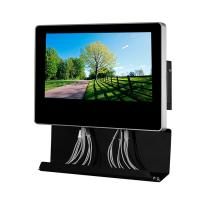 Buy cheap Metal Wall Mounted Electric Mobile Phone Charging Station Digital Signage  With 21.5'' AD Screen from wholesalers