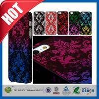 Buy cheap Scratch Proof Hard Apple Cell Phone Cases , Dust proof Plastic Skin Shell Iphone 5S Case from wholesalers
