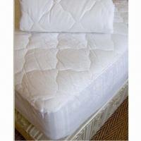 Buy cheap Ultrasonic Wave Quilted Waterproof Mattress Protector/Cover with Nonwoven Fabric Back from wholesalers