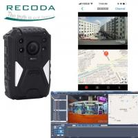 Buy cheap Full HD 1440P Night Vision 4G Body Cameras Support GPS Tracking With Wide Angle 140 Degree product