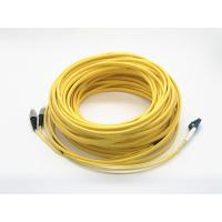Buy cheap Duplex Ruggedized Optical Patch Cord Lc To Fc 25 Meters Long Single Mode from wholesalers