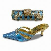 Buy cheap Evening Shoes and Bag, Available in Various Colors from wholesalers