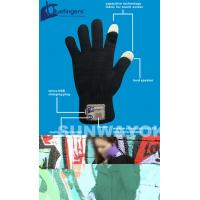 Buy cheap Knitting Bluetooth Beanie Hat / Gloves With Touch Screen For Promotion from wholesalers