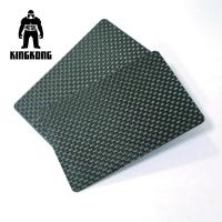 Buy cheap Carbon Fibre Gift Pvc Identity Card Silkscreen Printed Logo Customised from wholesalers