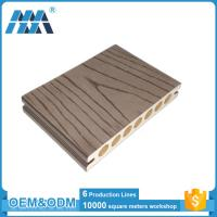 Buy cheap Anti-slip Outdoor Engineered Wood plastic composite decking boards from wholesalers