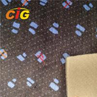 Buy cheap Multi Colored Polyester Auto Upholstery Fabric Car Seat Fabric 220GSM Weight product