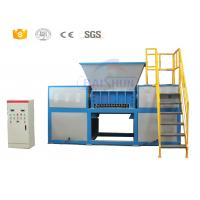 Buy cheap Double shaft waste home plastic shredder machine manufacturer from wholesalers