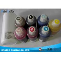 Buy cheap High Density Sublimation Dye Ink / Digital Textile Fluorescent Printing Ink from wholesalers