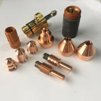 Buy cheap Plasma Cutter Spare Parts , Hypertherm Plasma Cutter Consumables Easy Installation from wholesalers