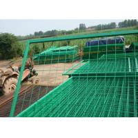 Buy cheap PVC Coated Wire Mesh Fence Metal Security Fencing High Strength And Durability from wholesalers