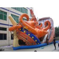 Buy cheap Giant Octopus PVC Commercial Inflatable Slide With Double Lane​ from wholesalers