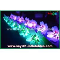 Buy cheap 10m Oxford Cloth Inflatable Lily Flower Chan For Romantic Wedding from wholesalers