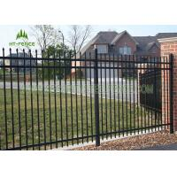 Buy cheap 1.2m Height Flat Top Steel Pool Fencing For Pool Security Protection from wholesalers