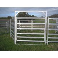 Buy cheap Australia Hot Sale Cattle Panel - 6 Bar Cattle Rail 1.8m High from wholesalers