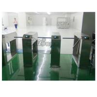 Buy cheap Electric Stainless Steel Access Control Turnstiles , Revolving Tripod Barrier Gate product
