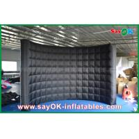 Buy cheap Oxford Cloth Inflatable Photo Booth With Enclosed Lighting Wall SGS Approval from wholesalers