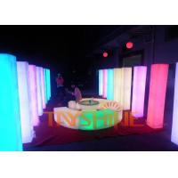 Buy cheap White Clearance PE Plastic LED Patio Furniture Waterproof For Bar KTV Nightclub from wholesalers