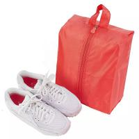 Buy cheap Mesh Small Portable Shoe Bag Red Color Multiple Practical Household Dustproof from wholesalers