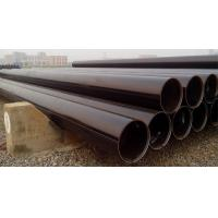 Buy cheap Electric Industrial API 5L ERW Carbon Steel Pipe OD 60mm - 820 mm , STPG370 Pipe product