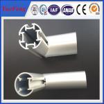 Buy cheap aluminum profile half round / machined tube aluminium round profile / 8mm aluminum tube from wholesalers