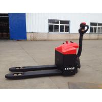 Buy cheap Battery Operated  Full Electric Powered Pallet Truck 1.5 Ton Motorised Pallet Trolley from wholesalers