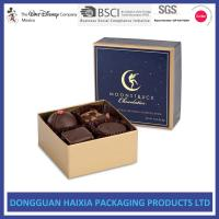 Buy cheap Chocolate Decorative Gift Boxes With Lids Small Capacity For Birthday Gifts from wholesalers