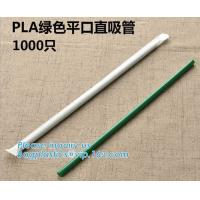 Buy cheap Disposable Plastic Compostable Straw Biodegradable Flexible PLA Drinking Straw Wholesale,Eco-Friendly Biodegradable Comp from wholesalers