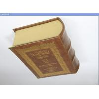 Buy cheap Hardcover Bible Book Printing Services With Gold Stamping , Gold Foil Print from wholesalers