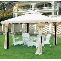 Buy cheap Outdoor Leisure Powder coated Steel Garden Gazebo Canopy Garden Pavilion from wholesalers