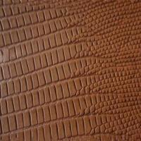 Buy cheap Finished Garment Leather, Lizard Pattern from wholesalers