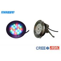 Buy cheap 54 Watt Submersible Rgb Led Pool Light Color Changing By Dmx Control from wholesalers