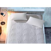 Buy cheap Quilted Hotel Mattress Protector Anti - Allergenic Full Sizes Customed Logo from wholesalers