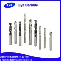 Buy cheap HRC 40-70 CNC Solid Tungsten Carbide Drill Bits for Hardened Steel from wholesalers