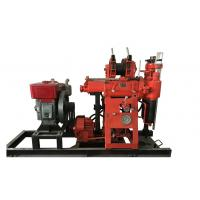 Buy cheap Red XY - 100 Soil Test Drilling Machine Full Hydraulic Water Well Drilling Rig from wholesalers