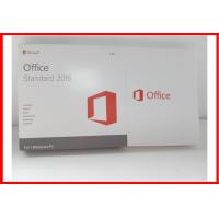 Buy cheap Genuine Microsoft Office 2016 Professional Retail Box Office 2016 Standard Dvd Retail Actiavted product