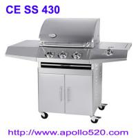 Buy cheap 4 Burner Gas BBQ Stainless from wholesalers
