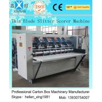 Buy cheap Vertical Cutting Paper Printing Slotting Machine For Pressing / Folding Marker from wholesalers