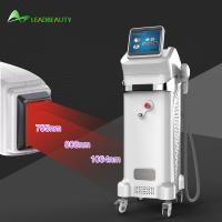 Buy cheap 808+755+1064nm beauty diode hair removal machine from wholesalers