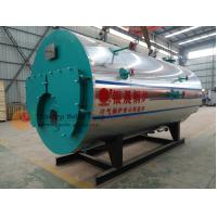 Buy cheap ZWNS Type Oil Fired Hot Water Boiler Heating System / Fire Tube Steam Boiler from wholesalers