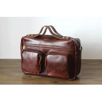 Buy cheap Men's leather man bag retro shoulder bag Messenger bag men briefcase from wholesalers