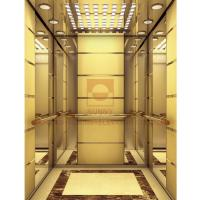Buy cheap Painted Modelling Stainless Gold Elevator Cabin Design Acrylic Light Decoration from wholesalers