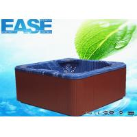 Buy cheap Balboa control acrylic shell square massage outdoor 6 seat hot tub with two therapy collar from wholesalers