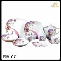 Buy cheap 47 pcs high quality decal new bone china dinnerware from wholesalers