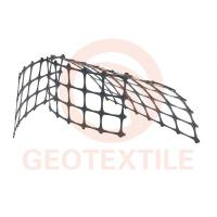 Buy cheap Track Stabilization Geo Mesh For Retaining Walls , 3.95m Biaxial Integral Geogrid Products product