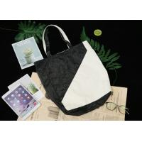 Buy cheap Two Colors Splicing Recyclable Tote Bag , Breathable Dupont Paper Bag For Shopping from wholesalers
