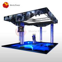 Buy cheap Unique Standing Up 9D VR Interactive CS Fighting Gun Shooting Simulator Arcade Game Machines from wholesalers