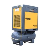 Buy cheap 8bar Pressure Screw Air Compressor 11kw 15HP with 300L Tank Air Dryer for Sandblasting from wholesalers