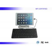 Buy cheap Plug Play iPad Wired Keyboard MFI Certified with 8 Pin Lightning Connector product