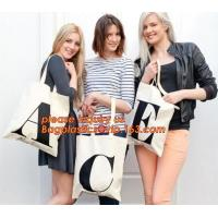 Buy cheap Handle Bag 100% Cotton Shoulder Bag,New design cheap printed shopping black tote bag cotton canvas handle with price from wholesalers