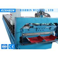 Buy cheap Cr12 Quenched Boltless Roof Panel Roll Forming Machinery for Roof Sheets from wholesalers